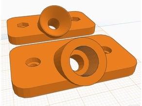 Angled Dry Box Feeder - M3 Fixation screws