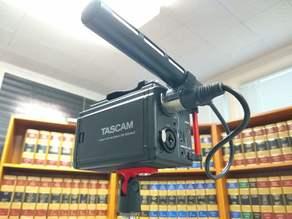 Sony ECM-XM1 Self Clip - 20mm Shotgun Mic Mount