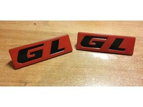 GL side emblem