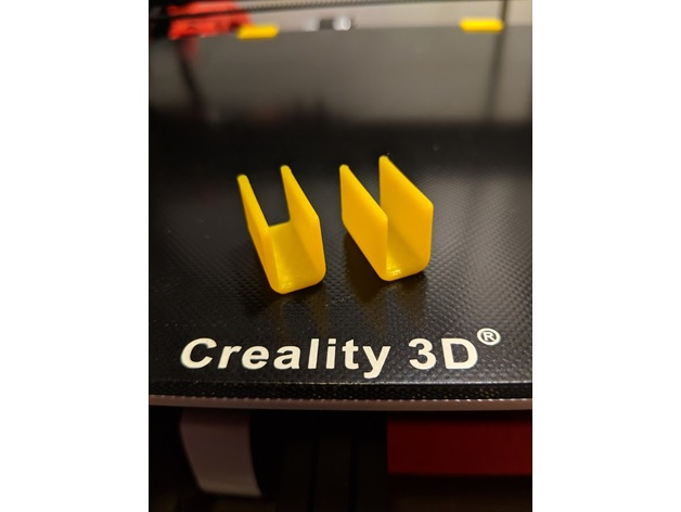 Creality Ender 3 Glass Bed Clips by sdmeier - Thingiverse