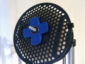Spool holder mount - aluminum profile 2020
