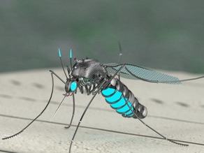 Mosquito Killer Robot created in PARTsolutions