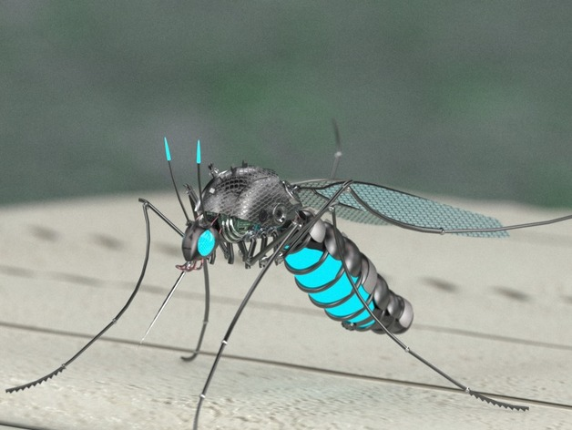 Mosquito Killer Robot Created In Partsolutions By Dape