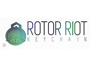ROTOR RIOT LOGO KEYCHAIN - Bit different holder