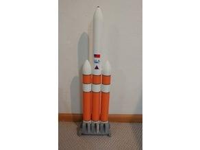 1/100 Delta IV Heavy (Improved)