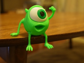 Mike Wazowski ringstand (From Disney Pixar's Monsters Inc.)