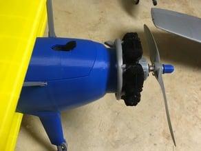 3DLabPrint Stearman PT-17 Motor Shims for CG correction