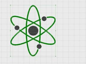 Embroidery Nuclear Design