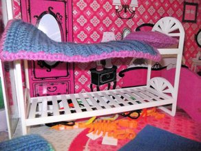 Barbie Doll House Bunk Beds - Updated