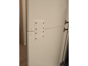 Double Cabinet Door Connector (IKEA)