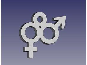 Straight Pride Pendant