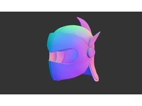 Actarus cosplay helmet (Goldogak) - complete set
