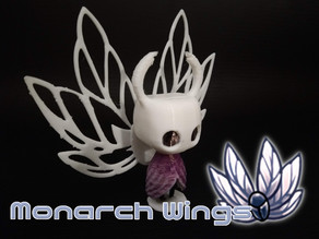 Hollow Knight - Monarch Wings