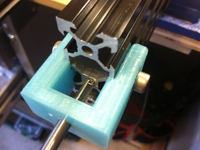 Tap Jig / Holder for Aluminum Extrusion 20mm / any width Misumi, OpenBuilds v-slot, MakerSlide compatible