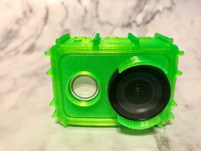 Xiaomi Yi fully enclosed rugged TPU case for Lens protector