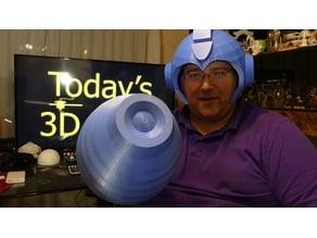 Mega Man Helmet (cleaned up a bit)
