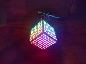 ULTiM8x8 modular, no-solder, RGB LED half cube