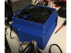Rumba 3d Printer Board case with 120mm fan v2