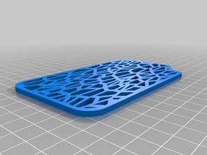 Soap Holder Plate - Voronoi