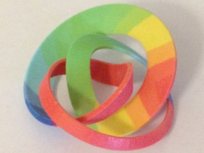 (3,2) Ribbon Torus Knot