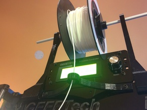 NAPALM's Geeetech Prusa I3 Pro B Filament Holder and Guide
