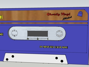 Ghostly Cassette Tape