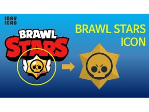 [1DAY_1CAD] BRAWL STARS ICON