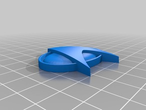 Star Trek Badge for Cube Magnets