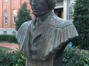 Roger B. Taney Bust - Frederick, Maryland