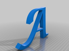 All Alphabet Letters A-Z  Lucida Calligraphy