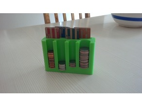 American coin and sleeve holder