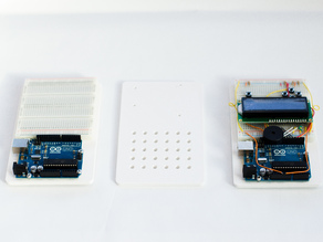 Arduino Breadboard Plate