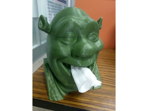 Shrek Tissue Box