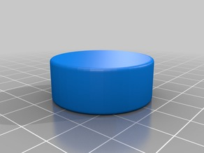 Screw-on Bottle Cap - Smoothed
