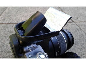 Flash diffuser-reflector