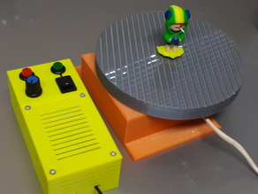 Motorized Turntable for spray painting
