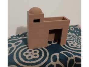 House for the nativity scene