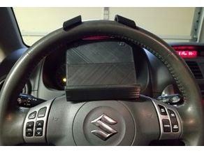 Steering Wheel Phone Holder (remix)
