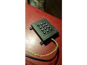 Keypad case for arduino nano