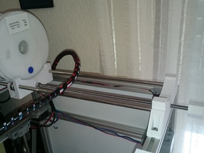 Adjustable filament spool holder vor Vulcanus V1