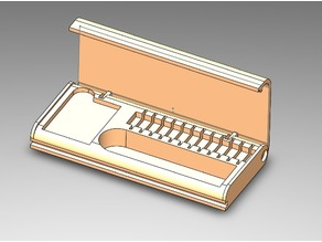 USB key and SD card box
