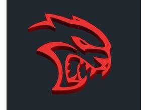 Dodge Hellcat SRT Logo
