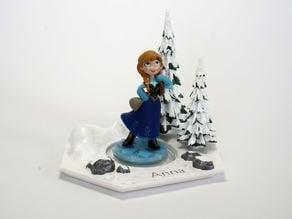 Disney Infinity Character Base - Anna
