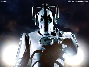 Cyberman Cybus logo badge