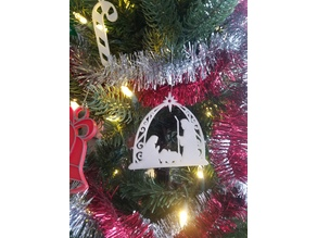 Manger Scene ornament
