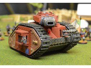 Remote Controlled Leman Russ Battle Tank