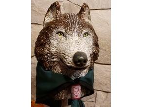 Wolf Head (Cub Totem Grand Howl)