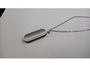 Miband 1st gen necklace pendem