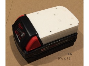 Milwaukee battery cover