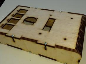 Ramps Laser display panel